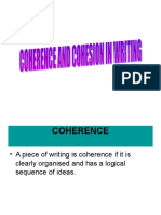 Coherence and Cohesion