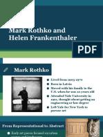 lesson 2 - mark rothko and helen frankenthaler