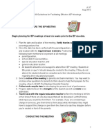 a-37 district 196 guidelines for facilitating effective iep meetings