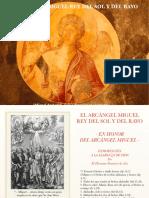 El Arcangel Miguel Rey Del Sol y Del Rayo.pdf El Arcangel Miguel Rey Del Sol y Del Rayo