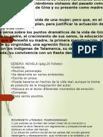 Análisis de La Novela GINA