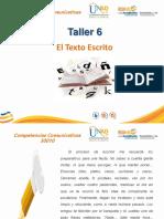 Taller 6 El Texto Escrito