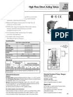 Asco Series 327 High Flow Direct Acting Catalog