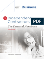 Independent Contractors the Essential Handbook PDF