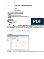 8º Conocer y Explicar El Software Electronic Workbench