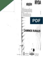 Manuales Tècnicos - Caminos Rurales (IRYDA)
