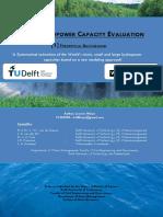 World Hydropower Evaluation Part 1 Theoretical Background