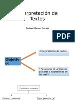 Interpretación de Textos PSU