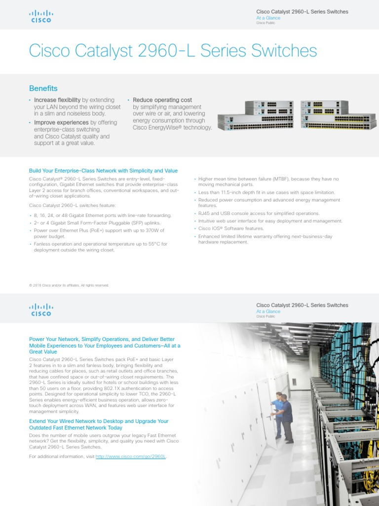 at-a-glance-c45-737786 | Network Switch | Cisco Systems