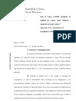 """Fallo completo - La Cámara ratificó que """"El Tigre"""" Acosta irá a juicio oral"""