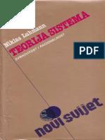 Niklas Luhmann - Teorija sistema.pdf