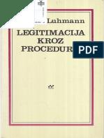 Niklas Luhmann - Legitimacija kroz proceduru.pdf