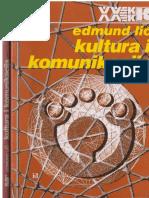 Edmund Lič - Kultura i Komunikacija