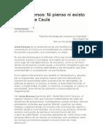 Ni Pienso Ni Existo. Una Lectura Moral de Pelo Malo, De Mariana Rondón, Por SANDRA CAULA