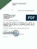 Iniciativa de Ley Anual de Presupuesto General de La Republica 2017