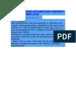 Amplificador Automotivo Taramps Tl 1800 r2 Não Liga