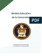 Modelo Educativo Umce