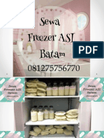 081275756770(Tsel/wa) Sewa Freezer ASI Batam