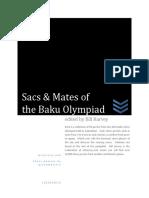 Sacs and Mates of the 2016 Baku Chess Olympiad