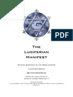 Luciferian Manifest