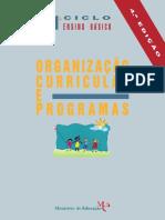 Programa 1ºCiclo EB