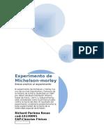 Experimento de Michelson