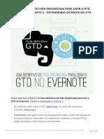 Guia Definitivo Do Vida Organizada Para Usar o GTD No Evernote – Parte 2 – Enten