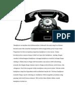 Handphone Merupakan Alat Telekomunikasi Elektronik Dua Arah Yang Bisa Dibawa Kemana