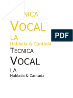 227618867 Tecnica Vocal Hablada