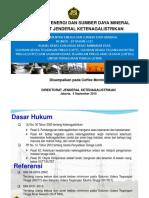 Presentasi Peraturan Menteri ESDM Nomor 18 Tahun 2015