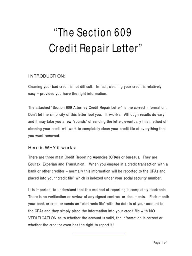Credit repair letter credit history credit bureau altavistaventures Image collections