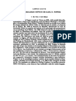 Epistemología - Popper