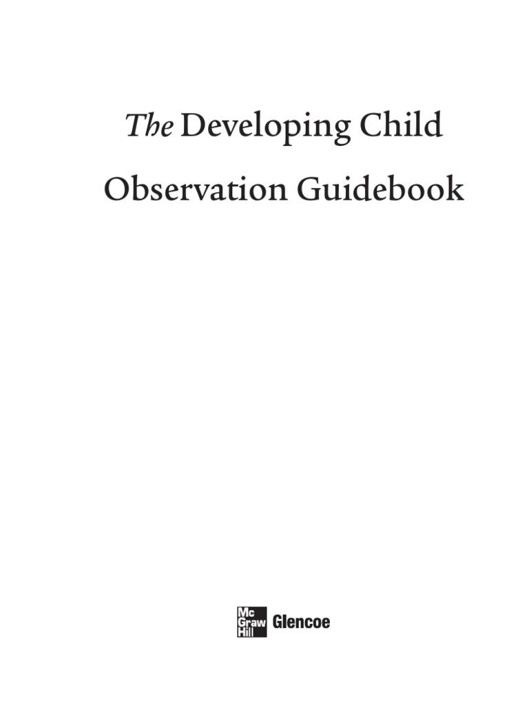 dc obsguidebook early childhood education self improvement rh scribd com
