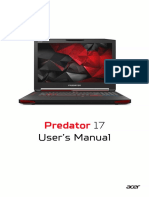 Predator Manual