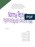 57058489 Norma Tecnica Programa de Seguridad y Salud en El Trabajo