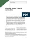 Evolucion Del Cambio en El Proceso Psicoterapeutico