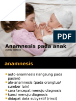 Anamnesis Anak