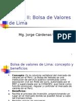 Unidad II Bolsa de Valores de Lima