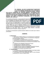 TPR Tribunal AdHoc Laudo Libre Circulacion ES