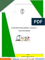 Libro Principios de Quimica Analitica Para Ingenieros