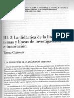 Colomer_1996 - Temas y Líneas Investigació