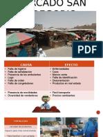 Mercado San Gregorio Analisis