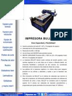 Impresora Bullet DTG