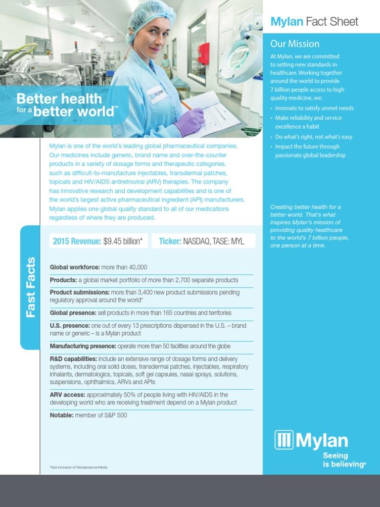 Mylan_Fact+Sheet   Mylan   Topical Medication