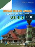 Bungo Dalam Angka 2013