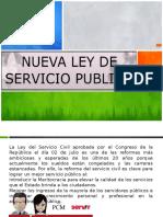 Exposicion Ley Servir