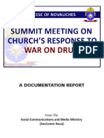 Summit Meeting On Church's Response To War On Drugs Documentation Report