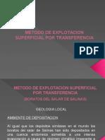 Metodo de Expl. Superficial Transferencia 13-16 Set