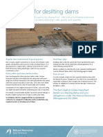 1507 Guidelines Desilting Dam Fact