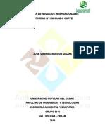Actividad 1. 2º Corte.catedra de Negocios Internacionales